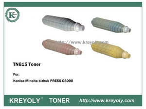 TN615 TONER POUR KONICA MINOLTA Bizhub Press C8000