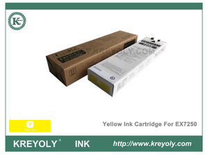 Cartouche d'encre jaune Riso ComColor Orphis Inkjet Machine EX7250